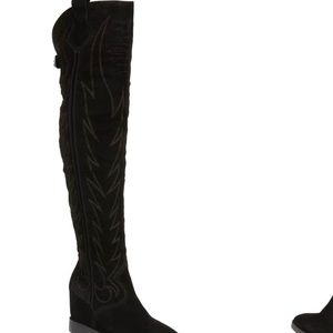ASH Gaucho over the knee western boots size 37